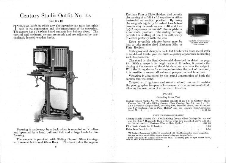 Kodak Century 1923 Ad Web