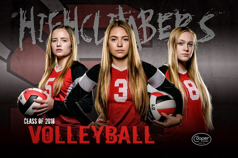 Sports Poster Volleyball Web